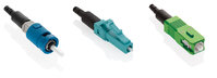 Fastcam Connector OM3/OM4  SC (Aqua) 10.5mm Cleave with 0.9mm 2mm & 3mm boots